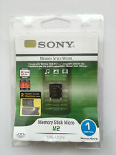 Sony Memory Stick Micro M2 1GB Inc M2 Duo Size Card Adaptor MSAC-MMS