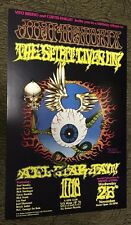 Jimi Hendrix Rick Griffin Flying Eyeball  Poster Curtis Knight Birthday Tribute