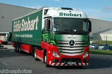 Eddie Stobart GK62OZB at Sherburn in Elmet Aug 2013 Truck Photo