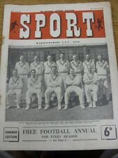 21/07/1950 Sport Magazine: Vol.11, No.132 - Warwickshire CCC Team Group [Front C