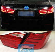For TOYOTA Camry V50 Aurion 2012-2014 Year LED Tail Lights Assembly Lamps Red