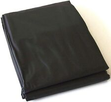 BLACK PVC Pool Snooker Billiard Table Dust Cover for 8' ft x 4' ft pool table