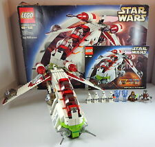 Lego Star Wars Set 7163 Republic Gunship 100% Complete with Box
