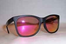 NEW JUICY COUTURE SUNGLASSES 200/S D28-WH BLACK/PINK MIRROR AUTHENTIC