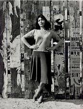 Photo Jean Schmidt - Juliette Greco - Tirage argentique d'époque - 1950 -
