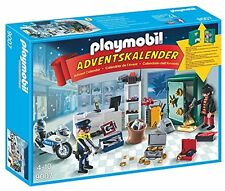 Playmobil 9007 advent calendar-mission de police (bijouterie)