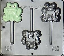 Frog Lollipop Chocolate Candy Mold  217 NEW