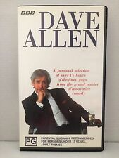DAVE ALLEN ~ BBC ~ RARE VHS VIDEO ~ 90 MINS FINEST GAGS FROM THE GRAND MASTER