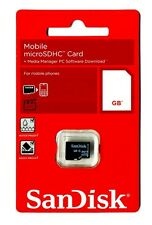 SanDisk Mobile micro sdhc card + media manager pc software Download (8GB)