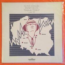 KLAUS SCHULZE - Dziekuje Poland Live '83 (Vinyl 2LP) KS 80040-41