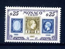 MONACO - 1960 - 75° anniversario del francobollo monegasco