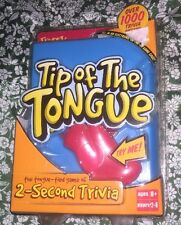 NEW Sealed Fundex Games Tip of The Tongue Electronic 2 Second Trivia Game