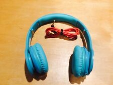 Genuine Beats by Dr. Dre Solo HD Drenched Headphones - Teal - Good Condition