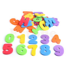 36 Pcs Baby Kids Letters&Numeral Sponge Foam Floating Bath Tub Swimming Toy Play