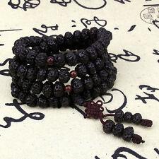9mm Tibet Buddhism 108 Tianyizi bodhi seeds Prayer Bead Lucky Mala Necklace