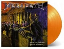 MEGADETH The System Has Failed 180gm LIMITED ORANGE Vinyl LP 2016 NEW & SEALED