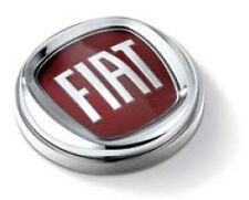 GENUINE FIAT PAPER-WEIGHT NEW ROUND FIAT LOGO IN NICKEL-PLATED METAL MERCHANDISE