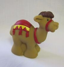 New! CHRISTMAS NATIVITY CAMEL RED SADDLE Fisher Price Little People for WISEMAN