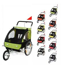 Baby Pet Stroller Jogger Bike Strollers Bicycle Carry Wheels Jogging Ride Run UK