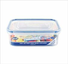 Pack of 6 100 % Air Tight Food Container Clip Down Lid Tupperware 0.9 Litre