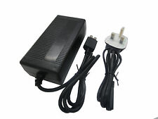AC Brick Adapter Power Supply for Xbox 360 S Slim UK Mains Charger Cable 135W