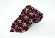 Robert Talbott Best Of Class Men's Tie Red Blue & Gold Silk Necktie