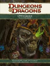 D&D Dungeons Open Grave Secrets of the Undead Brian R. James, Wizards RPG Team