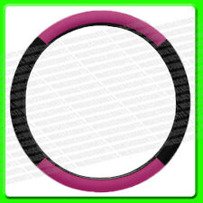 Pink Lady Steering Wheel Cover [ CPT2510044 ] Pink & Black