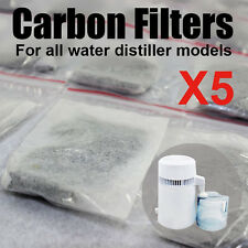 5pack  Water Distiller Waterwise Post Filter Bags for Water Distiller