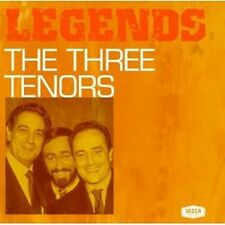 JOSE CARRERAS - LEGENDS-THE THREE TENORS  CD PAVAROTTI DOMINGO CARRERAS NEU