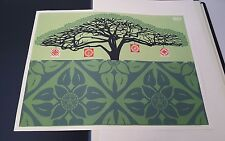 SHEPARD FAIREY Monkey Pod Paster SCREEN PRINT OBEY STREET PASTER not signed