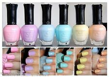 Kleancolor Nail Polish PASTEL Colors Lot of 6 - Lacquer Collection Full Size