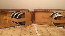 Rollei Rolleiflex Camera Lens Filter Set Of 6 B-11 B-5 B-2 R-11 R-5 R-2 w/ Case