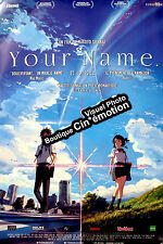 Affiche pliée 40x60cm YOUR NAME /KIMI NO NA WA 2016 Shinkai animation TB