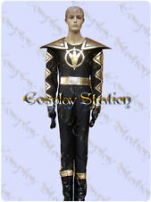 Power Rangers Black Dino Ranger AbareBlack Cosplay Costume_commission618