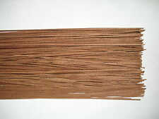 50 Holzleisten Mahagoni 800 x 2 x 0,6 mm