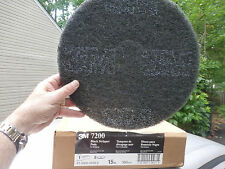 "5- 3MBlack Stripper Pad 7200 15""  *Bid on what u need Discos para remover Negro"