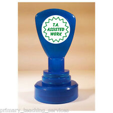 ST26 TA Assisted Work Pre-inked School Marking Stamper Primary Teaching Services