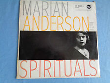 """Marian Anderson Spirituals 12"""" LP record, with Franz Rupp at the Piano"""
