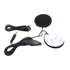 Motorcycle Helmet Stereo Headset MP3 Radio Earphone Speaker Interphone Black New