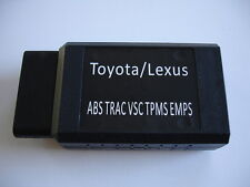 Toyota Lexus TPMS Loop Reset Tool ABS SRS EMPS TRAC VSC Cruise Control Scan Tool