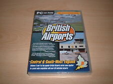 ✈️ BRITISH AIRPORTS VOLUMES 3 & 4 TWIN PACK  FLIGHT SIM 2004 FS2004 ADD-ON NEW