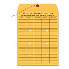 "Quality Park Standard Style Inter-department Envelope - Interoffice - 10"" X 13"""