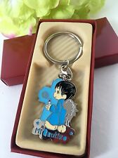 12 Baptism Party Favors Boy Blue Keepsakes Keychains Recuerdos de Bautizo Niño