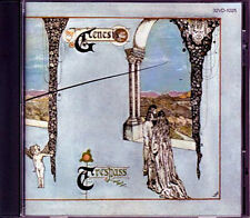 GENESIS Trespass JAPAN 1st Press 1986 CD 32VD-1025 3200Yen BLACK TRIANGLE