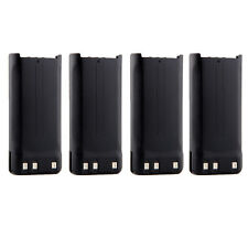 4X 1650mAh NI-MH KNB-45L Battery for KENWOOD TK-2207 TK-3207 TK-2312 TK-3312