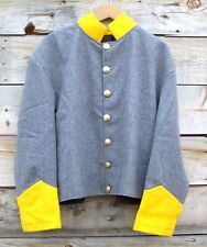 civil war confederate reenactor cavalry shell jacket  42