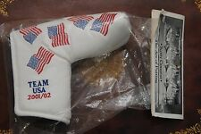 NEW SCOTTY CAMERON PUTTER HEADCOVER RYDER CUP USA FLAG TITLEIST 2001 '01