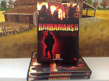 Barbarians II 2 ( History Channel, 2 dvd Set ) - very good, free shipping