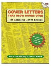 Cover Letters That Blow Doors Open by Anne McKinney (2012, Paperback)